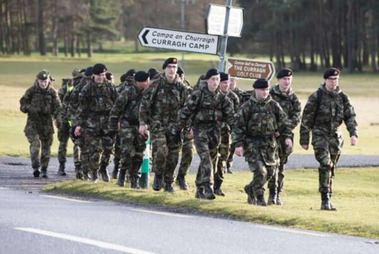 'Currently we have just over 8,100 fully trained personnel on our books, which is 85 per cent of our minimum designed strength, before we even look at the 600 personnel deployed overseas'. Picture: Rollingnews.ie