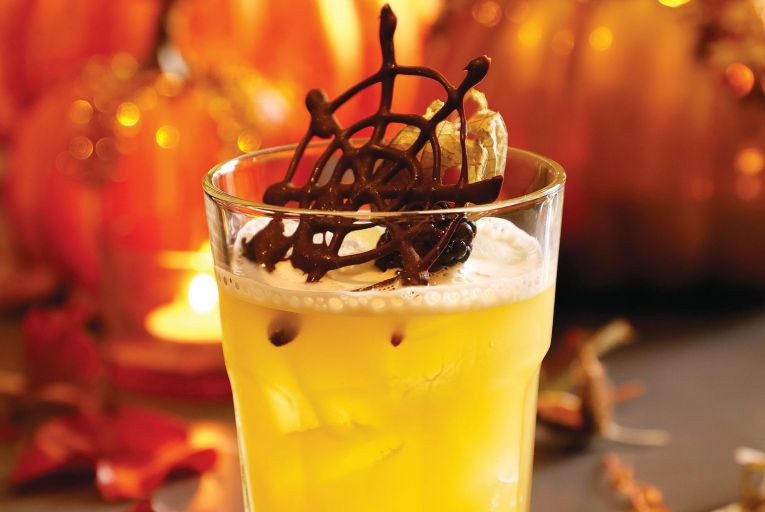 The Pumpkin Potion from the team at Hayfield Manor in Cork