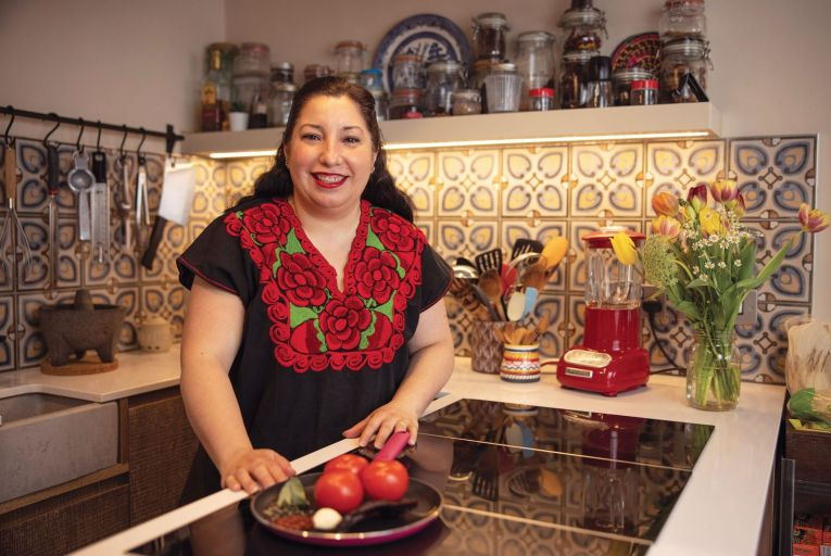 Lily Ramirez-Foran, owner of Picado: 'What I do now keeps me happy and allows me to share that happiness with other people.' Picture: Fergal Phillips