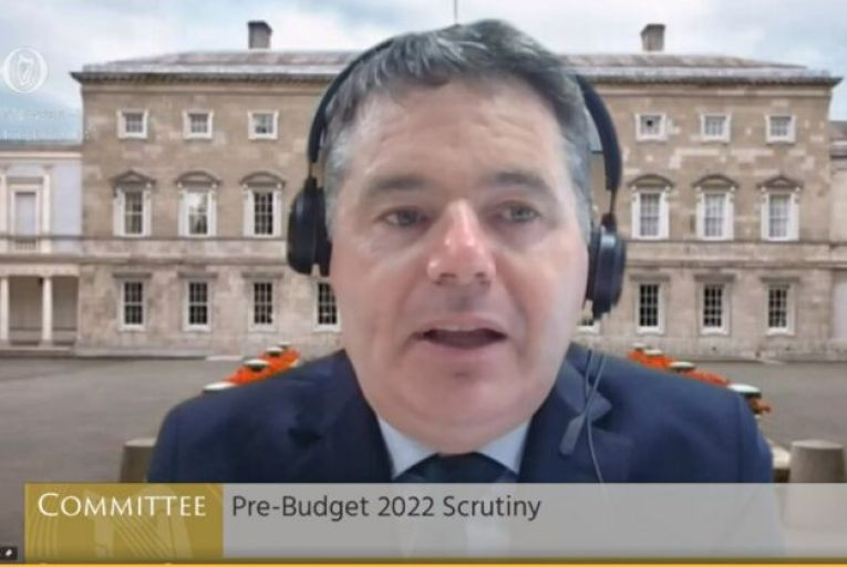 State won't shy away from 'difficult' budget decisions, Donohoe says
