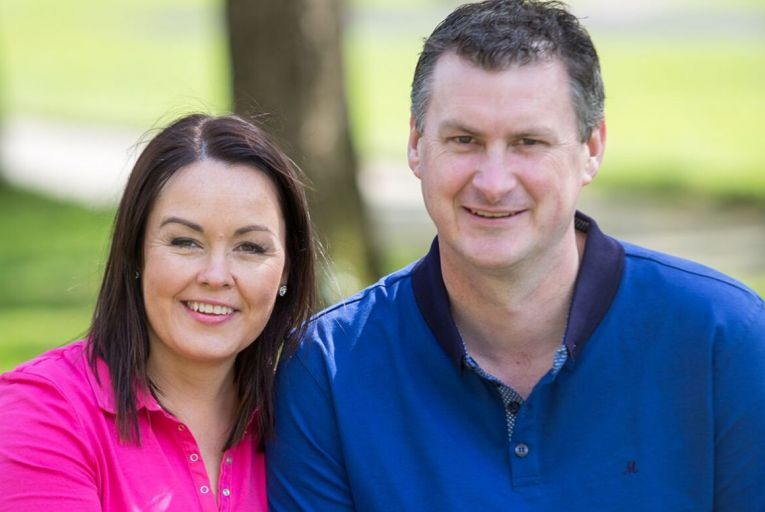 Laura and Tom Sinnott, who run Wexford Preserves. Picture: CJ Nash