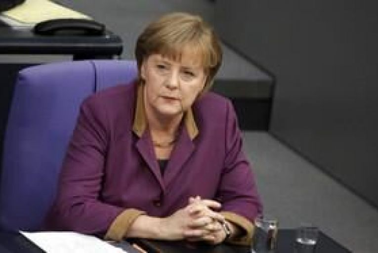 Merkel tells BBC: Greece mustn't leave euro