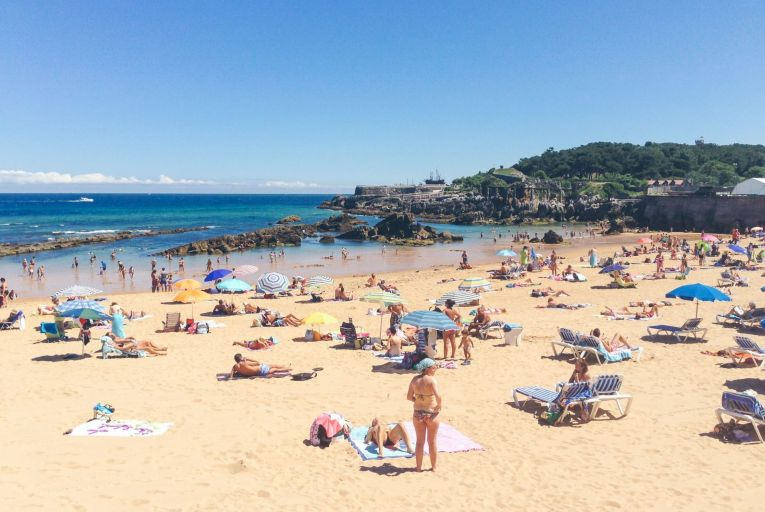 Sunny beach holidays are not on the agenda when it comes to the lifting of restrictions in May and June. Picture: Getty
