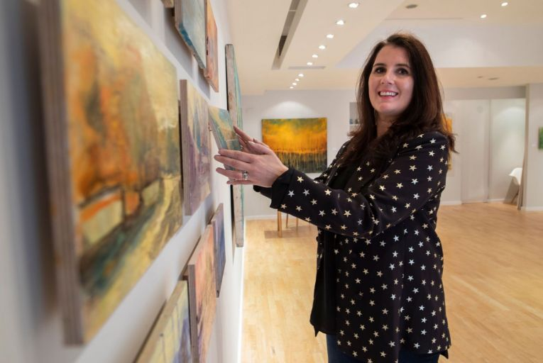 Tara Murphy, director of Solomon Fine Art: 'I always find it interesting as to why someone has come through our doors.' Picture: Fergal Phillips
