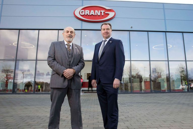 Grant Engineering opens €14m expanded facility