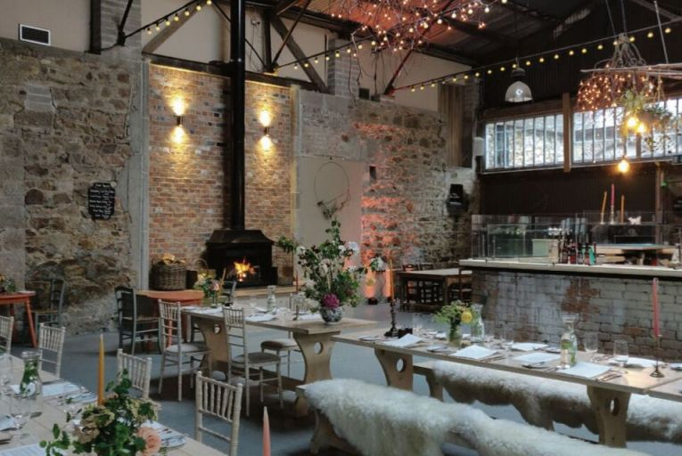 The Grain Store Café at Killruddery in Co Wicklow is an airy, high-ceilinged space serving breakfast, lunch, cakes and coffees
