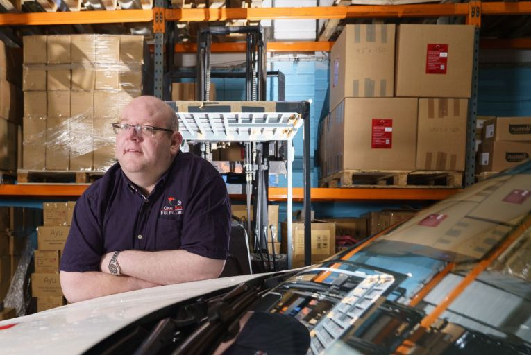 Shane Murphy, owner of One Stop Fulfillment: 'Since we are delivering orders in bulk to the UK, we can provide bulk clearance as well.' Photo:Barry Cronin