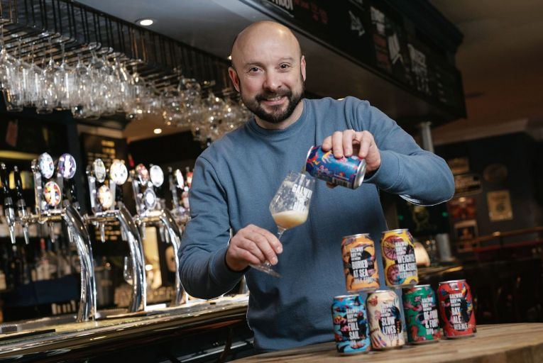Galway brewery's new line rewards a can-do attitude