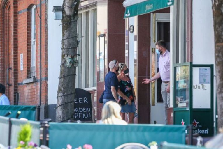 Groups representing pub and restaurant owners have criticised the government's announcement and have claimed the plan to limit indoor dining to vaccinated people is unworkable.  Picture: Sasko Lazarov/RollingNews.ie
