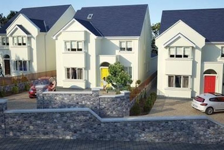 Stepaside Lane in Dublin 18 is a scheme of three five-bedroom homes just come to market
