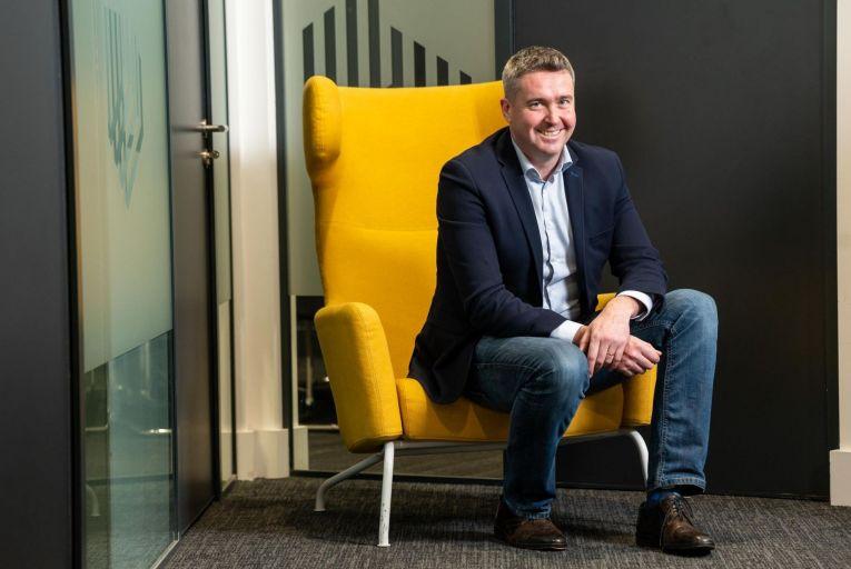 David O\'Shea founder of Blackbee Investments (Pic: John Allen)