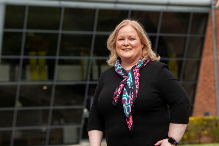 Lorna Martyn, head of technology at Fidelity, said the company experienced record growth as the pandemic resulted in a major pivot to digital services. Picture: Andrew Downes/Xposure