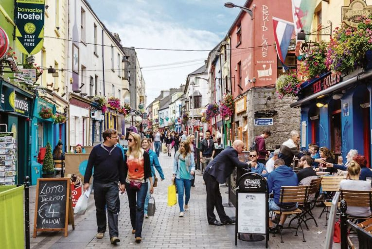 Edel Coffey: Galway life lessons give Dubliners' notions The Finger