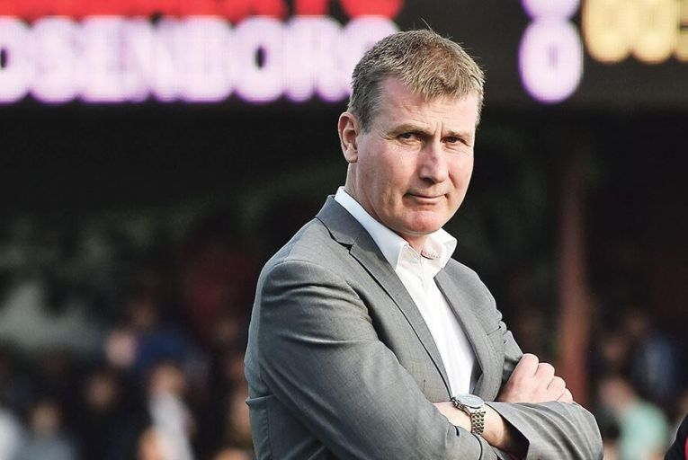 Stephen Kenny Pic: David Maher/Sportsfile