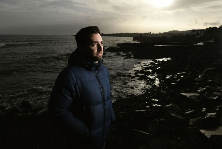 Gareth O'Neill: 'Epilepsy is nothing to be ashamed of, nothing to be embarrassed about.' Picture: Bryan Meade