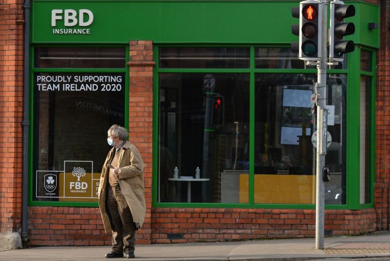 FBD Insurance is seeking to strip thousands of euro from awards made to struggling businesses by withholding the value of government supports such as Covid-19 wage subsidy schemes and rates waivers. Photo: Getty