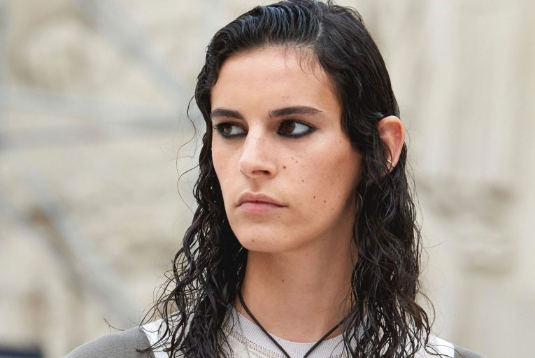 The beauty world has seen a return to more natural brows as seen at Chloé's spring-summer 21 show