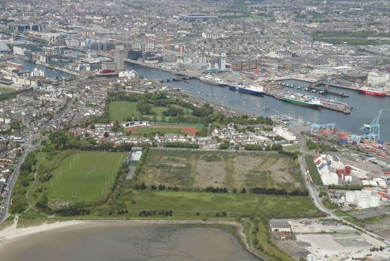 The 37-acre site in Ringsend, Dublin 4, is one of the last large-scale pieces of development land left in the city