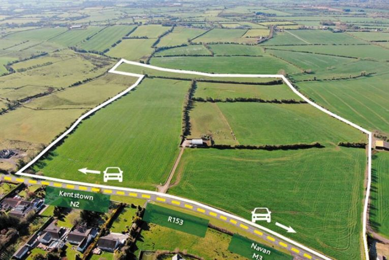 Lively auction drove Meath landholding €200k above opening bid