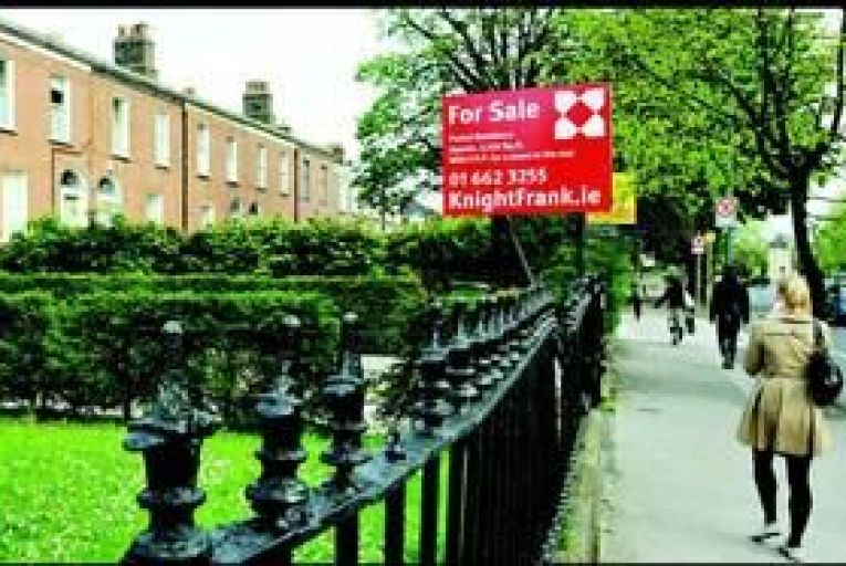 Dublin property prices are the most stable. Photo: Maura Hickey