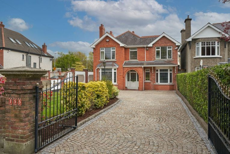 155 Vernon Avenue in Clontarf is a 220-square metre double-fronted redbrick detached home