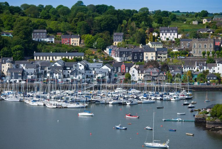 Cobh: the seaside town has been earmarked for significant population growth with increased housing units to be delivered