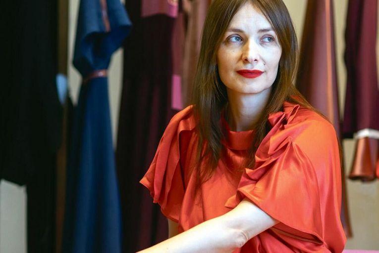 Roksanda Ilincic :  a Diane von Furstenberg for our times Pic: Fergal Phillips