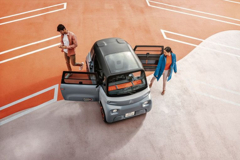 The new Citroën Ami: relatively cheap, easy to buy and, of course, electric