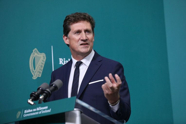 "Èamon Ryan, the Minister for Communications: ""very confident"" that the rollout of the National Broadband Plan will proceed as planned"