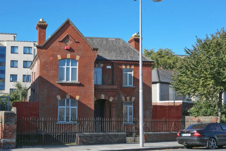Dolphin House, known locally as the Bottlers' Hall, on Irishtown Road has been put up for sale