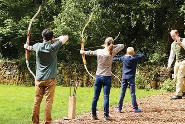 Archery is just one of many activities to participate in at Ashford Castle