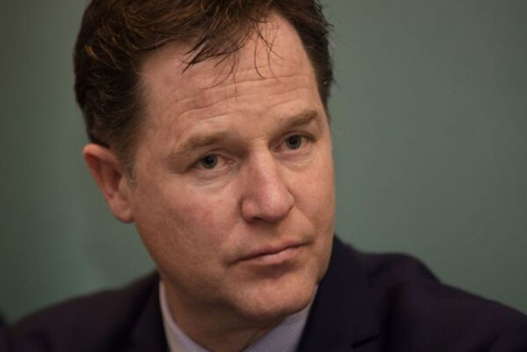 Nick Clegg, Facebook's head of global policy, defended the company's policy of not removing provably false claims made in political posts and instead labelling them with corrective statements