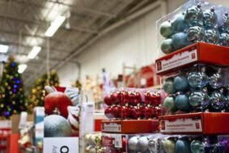 Americans purge woes with tinsel splurge