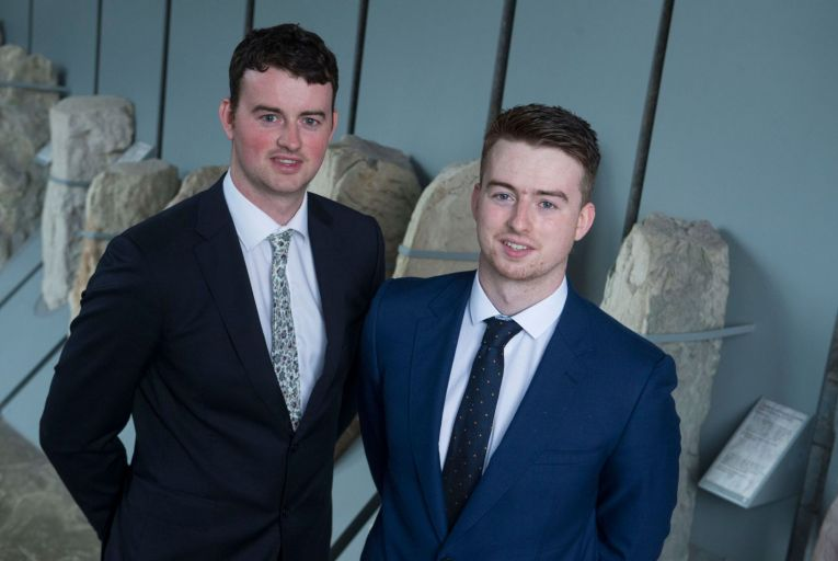 James and Peter Nagle, co-founders of Bitcove: couldn't get bank account for firm in Ireland