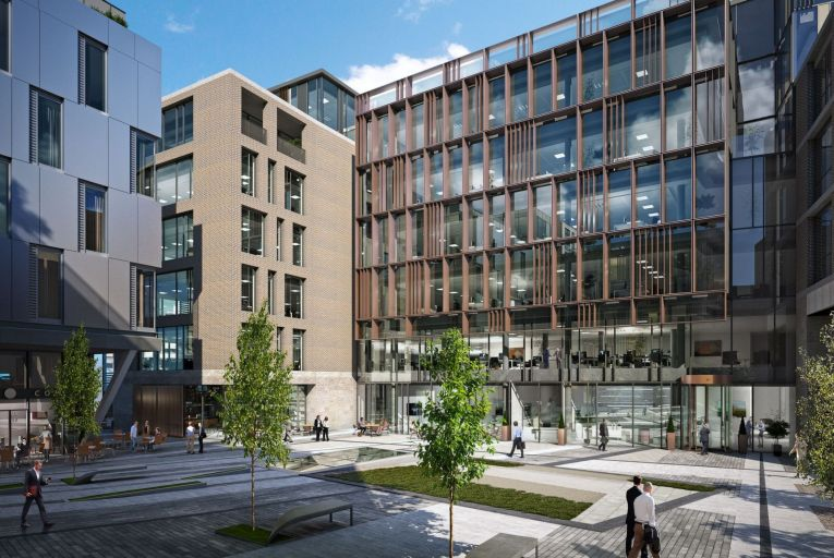 CBRE quoting €55 per sq ft for prominent office development