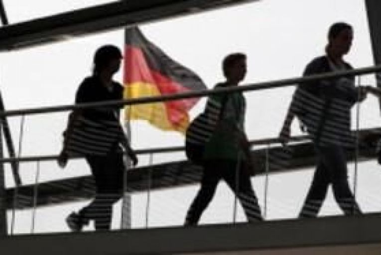 German business confidence rises unexpectedly