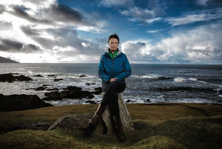 Former Green Party candidate Saoirse McHugh in Achill, Co Mayo Picture: Michael Dillon