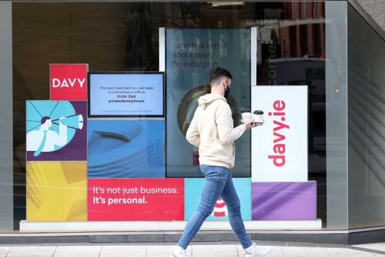 Davy: finalising the terms of the deal with Bank of Ireland . Picture: RollingNews