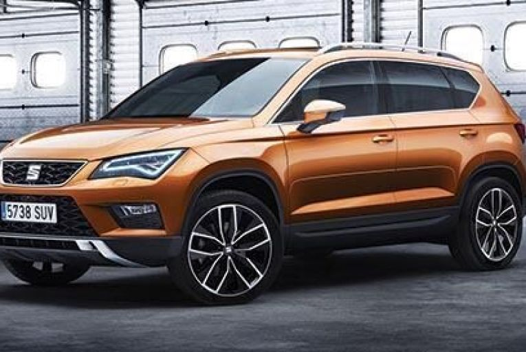 The new Seat Ateca marks the brand's entry into a new segment