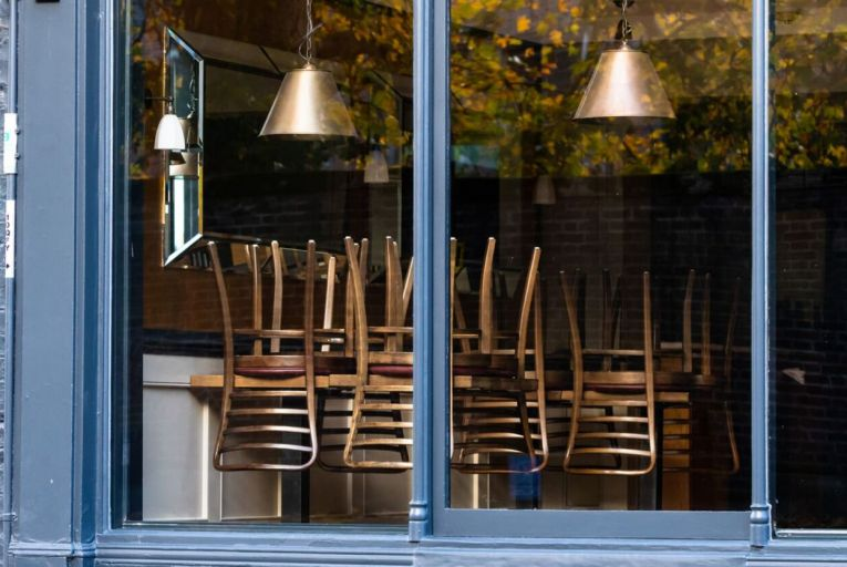 The state's plan to reopen indoor dining will allow adults who are fully vaccinated or have recovered from Covid in the last six months to enter pubs and restaurants. Picture: Getty