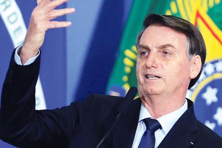 Jair Bolsonaro: 'On every indicator on which we commonly regard Donald Trump as bad, Bolsonaro is worse' Pic: Getty