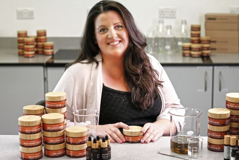 Leah Fletcher, co-founder of deDanú: The home-grown skincare companyhas developed a skincare line that is formulated, manufactured, and distributed from a facility in Co Roscommon.