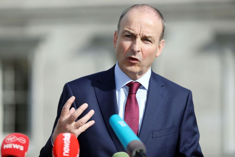 Micheál Martin can see a major change on the horizon after the country comes out of the Covid-19 crisis