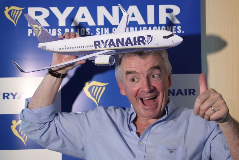 Michael O'Leary, the Ryanair chief executive, urged governments across Europe to scrap many of the Covid-19 travel restrictions. Picture: Shutterstock