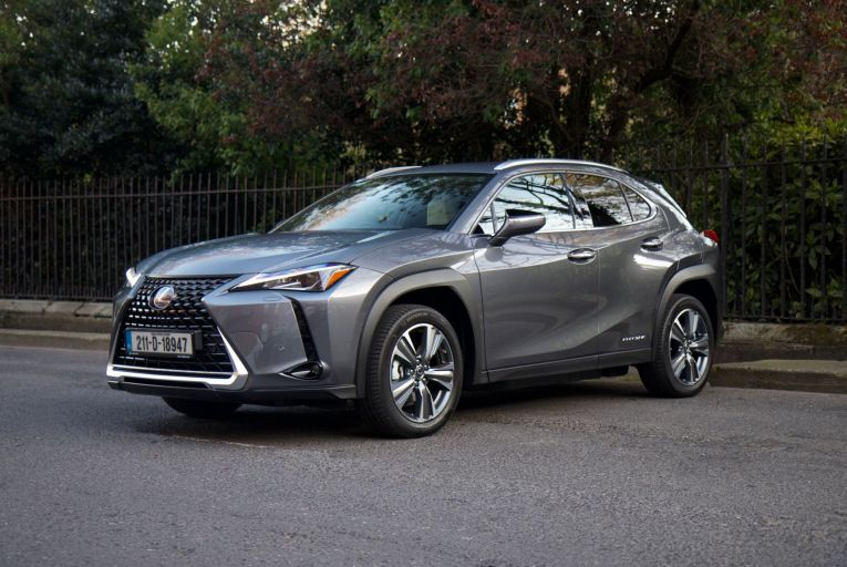 The Lexus UX 300e is on sale in Ireland from €61,550