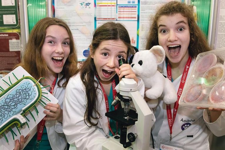 Young Scientist 2019: From the maths of rap to a laser-guided fix for posture