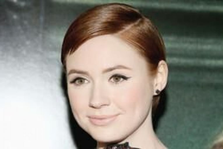 Karen Gillan: the Doctor Who star has made her first foray into Hollywood. Picture:Mike Windle/Getty