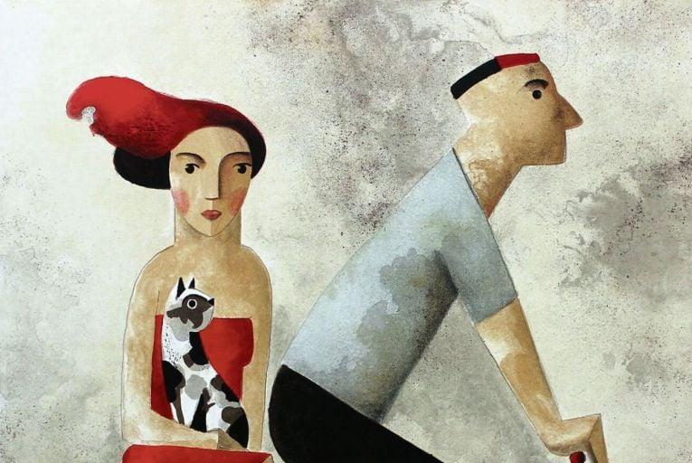 With You by Didier Lourenço at Gormleys Fine Art