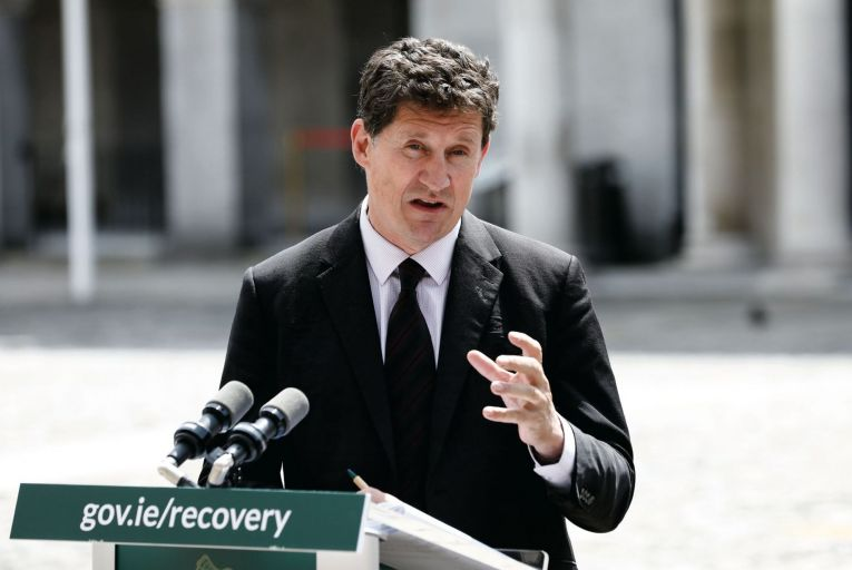 Eamon Ryan, Minister for the Environment, Climate and Communications:  changes will allow the government to develop an emissions trading system for carbon removals . Picture: RollingNews