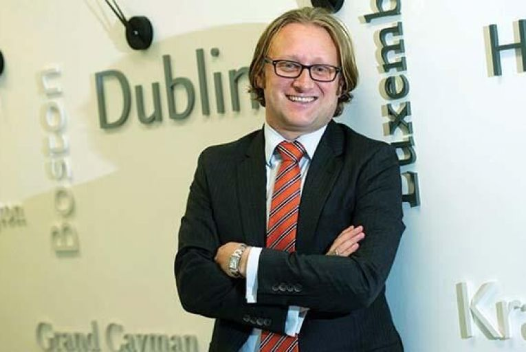 Sean Tuffy, Senior Vice President and Head of European Strategy, Investor Services with BBH Picture: Maura Hickey